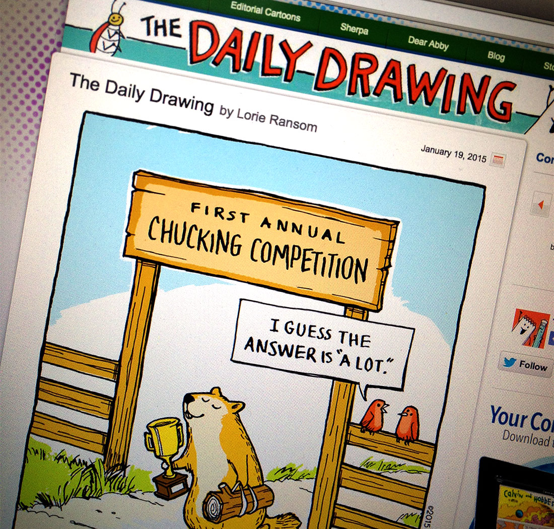 The Daily Drawing on GoComics.com